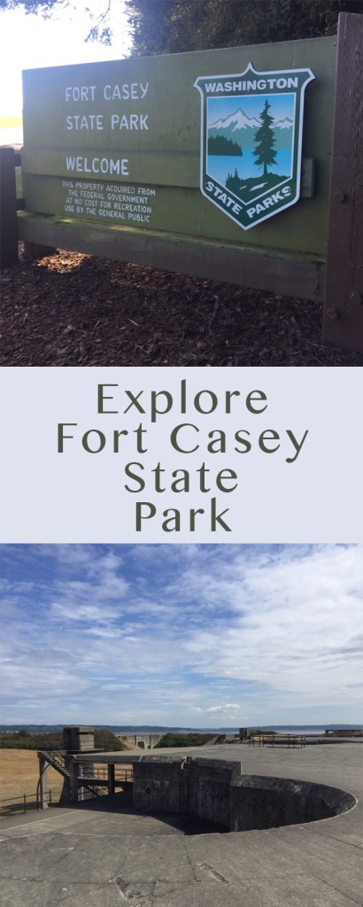 Fort Casey State Park is one of my favorite places to visit in Whidbey Island, and it's a favorite place of mine to take guests. Year-round, it's a fun and educational place to go.