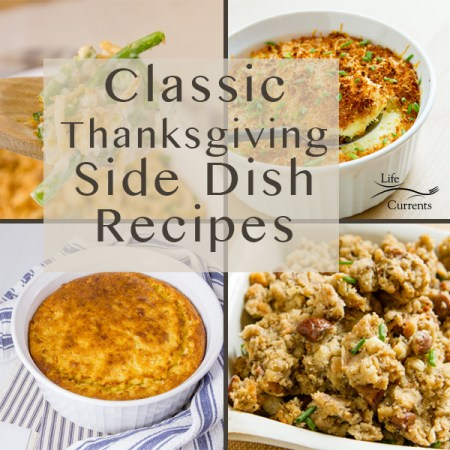 square crop of Classic Thanksgiving Side Dish Recipes