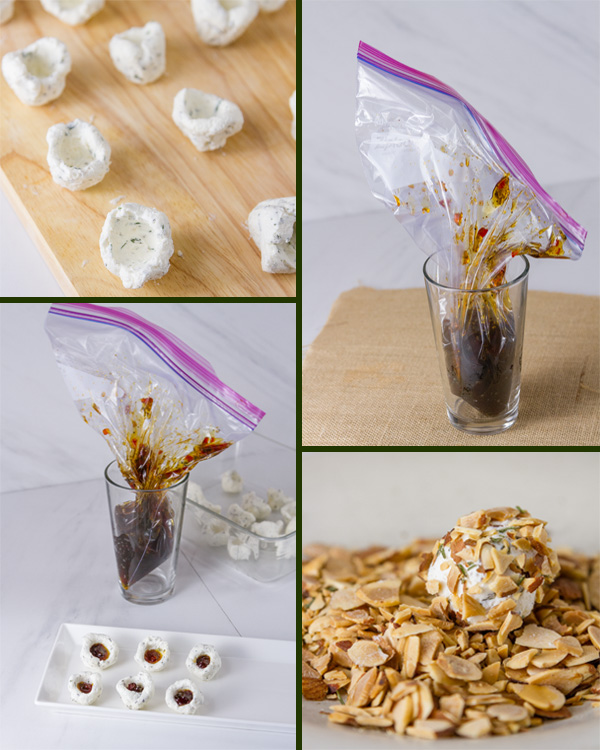 How to make Pepper Jelly Cheese Balls with 4 step by step images