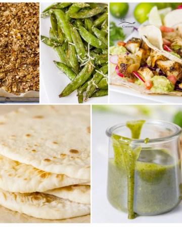 collage of 5 images of food for the Most Popular Recipes of 2020: the year in review
