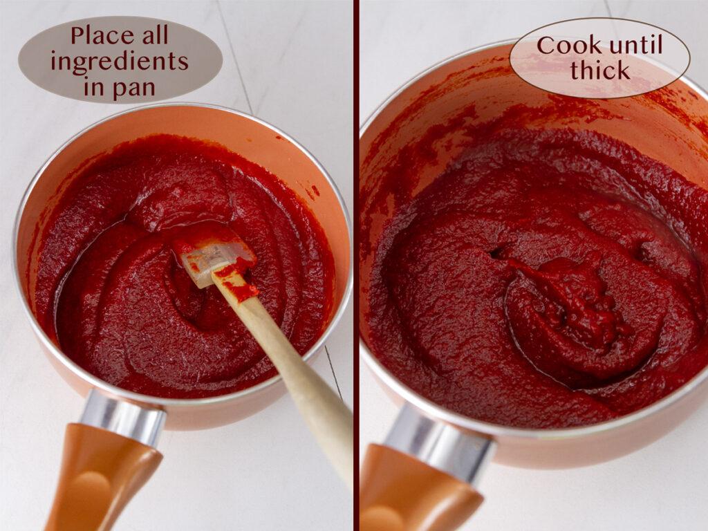 how to make ketchup at home.