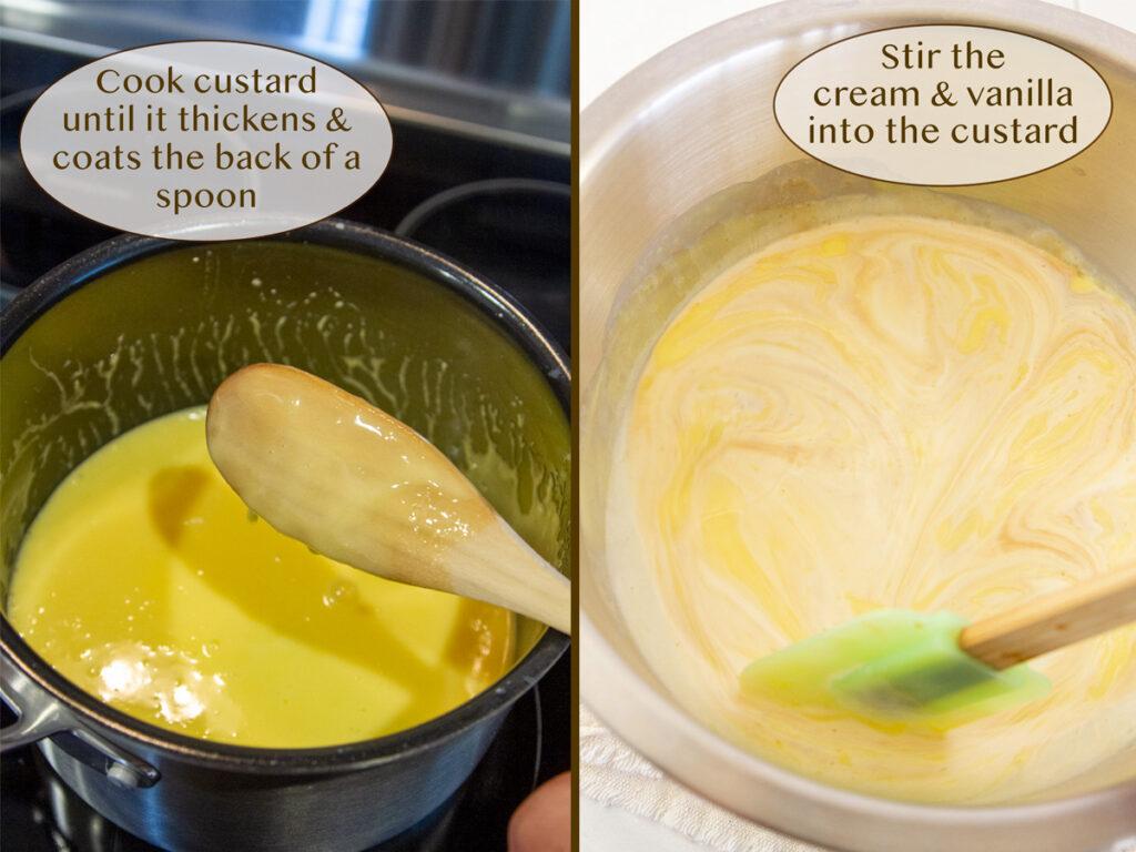 how to make vanilla ice cream.