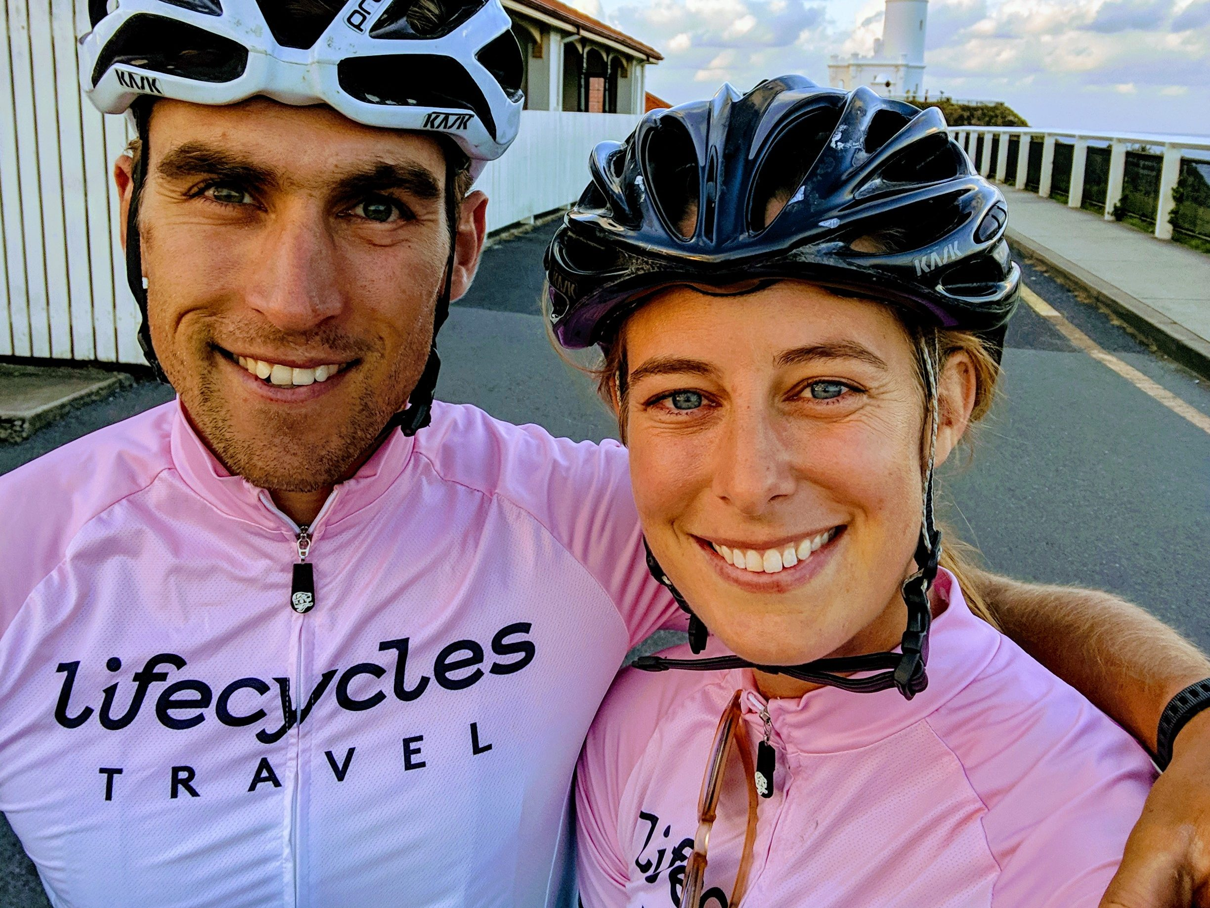 Alice and Chris owners of Lifecycles Travel