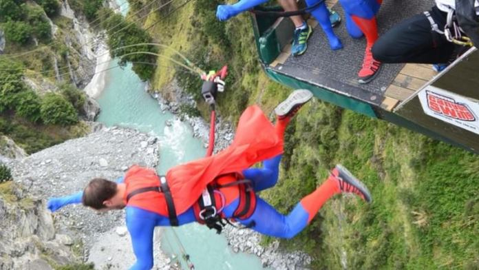 Shotover Canyon Swing Queenstown New Zealand Life Devil