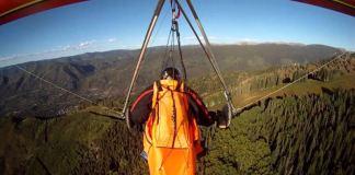 Hang Gliding in Colorado Rocky Mountain High