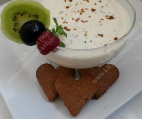 Zabaglione ready for dipping... we need strawberries!