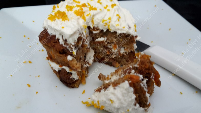Soft, spongy cake with a creamy filling... good for you too!