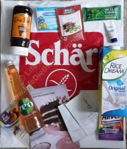 #Allergyshow sponsored by Schar! Freebies!