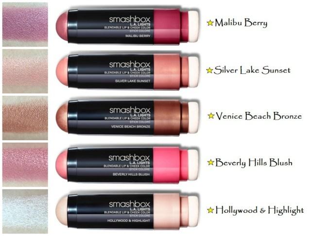 SmashBox LA Lights  Blendable Lip and Cheek Color Review