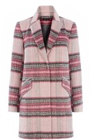 Check Coat £95 Warehouse