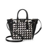 Marylebone Mini in Black Geometric Fur, £795