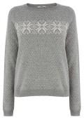 Snowflake Knit Jumper, £38, Oasis