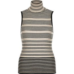 Striped Sleeveless Knit £28 River Island