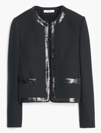 Sequin Jacket, £39.99 Mango