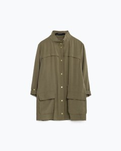 Safari Jacket, £39.99 Zara
