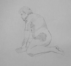 Drawing by Sandrine Pelissier