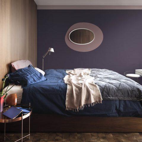 heart wood bedroom dark