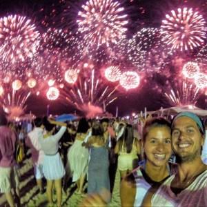 New Year's Eve on Copacabana Beach, Rio