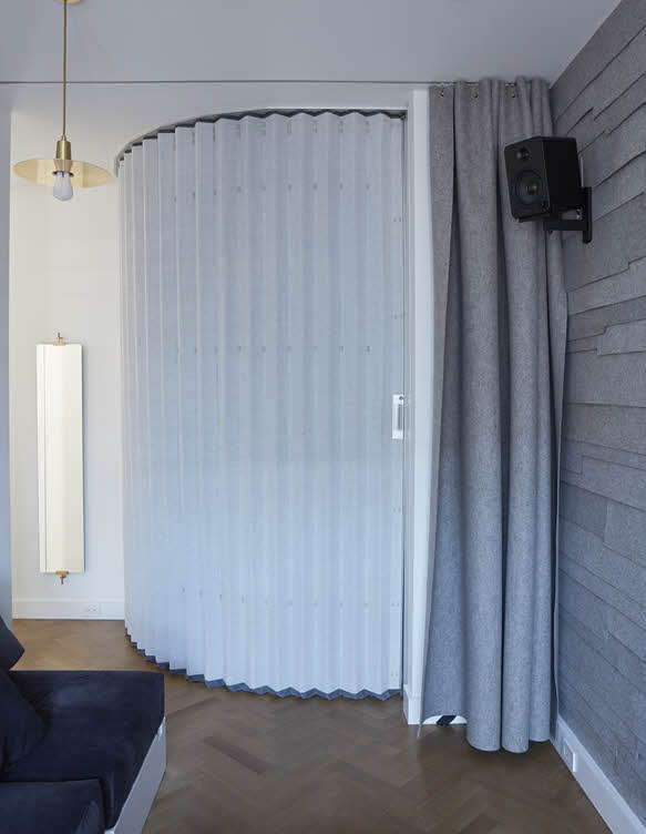 Hufcor Accordion Wall Instant Visual And Acoustic