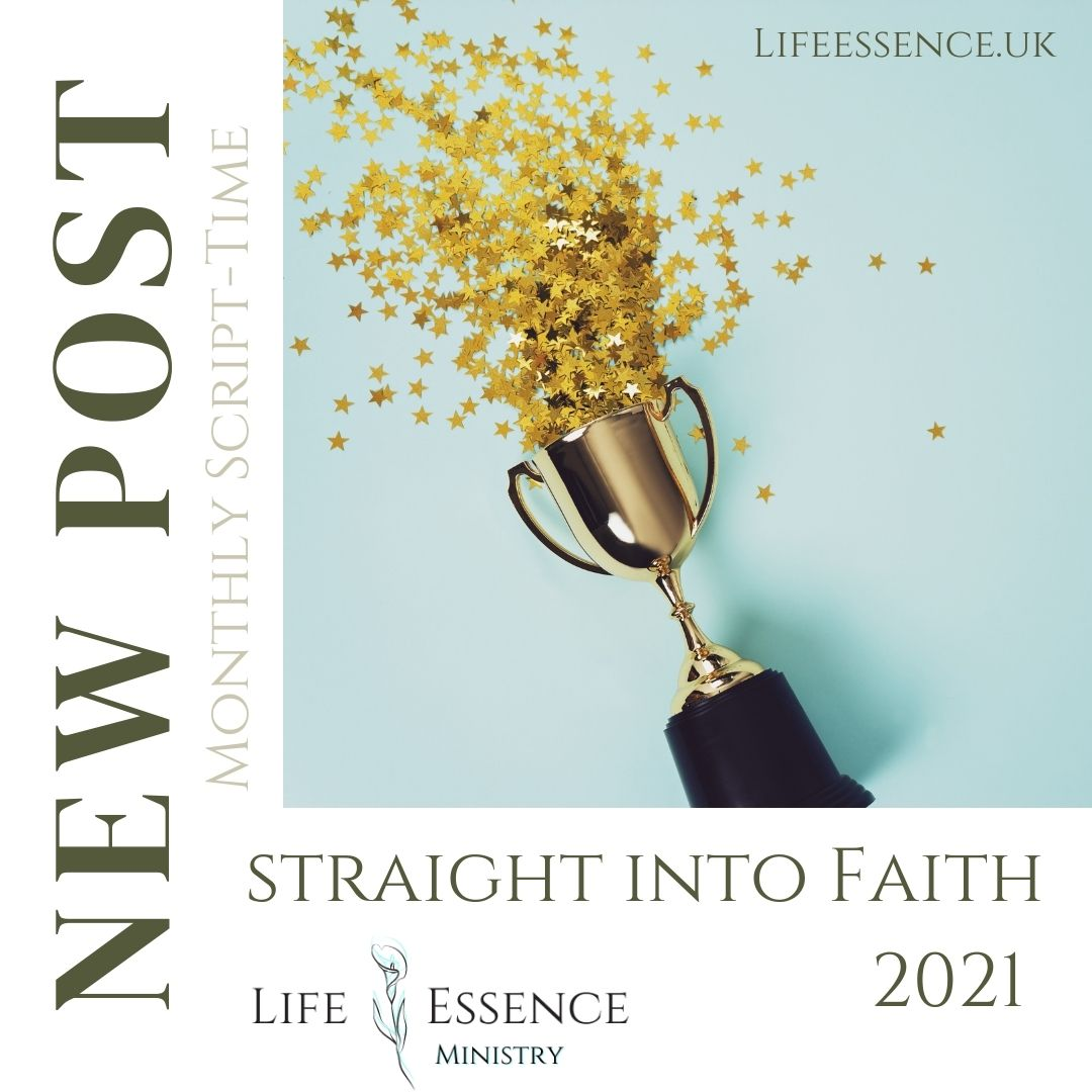 Straight into Faith 2021-January Monthly SCRIPT-TIME