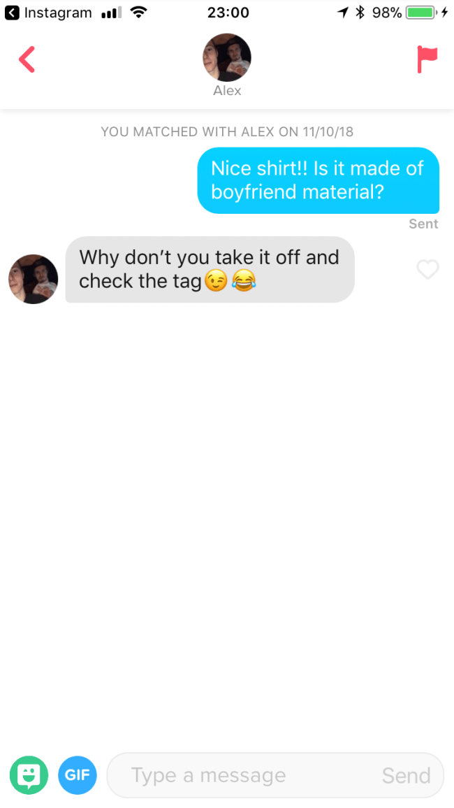 I Sent Pickup Lines To My Tinder Matches And This Happened Sofiasolisb