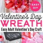 Diy Valentine S Day Mesh Wreath Valentine S Door Decoration