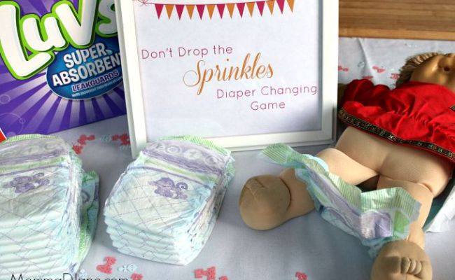 Don T Drop The Sprinkles Diaper Changing Game Life