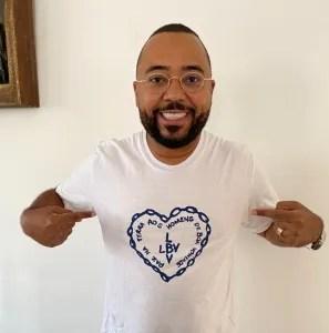 Cantor Dudu Nobre participa de campanha beneficente