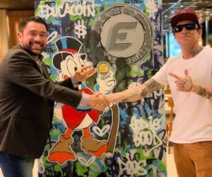Artistas plástico, Fábio Polesi, fecha parceria com a Educacoin