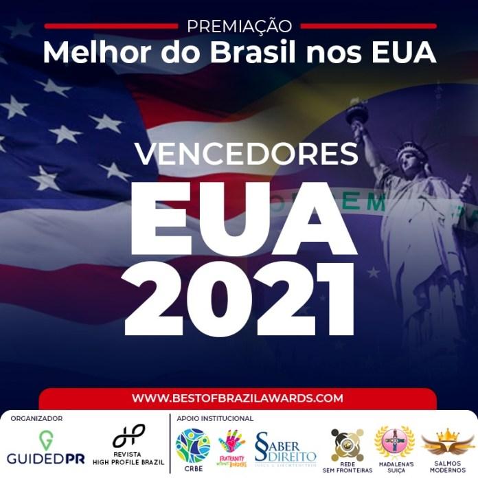Sua Majestade Rainha Diambi e Luiza Brunet no Melhor no Brasil nos EUA 2021