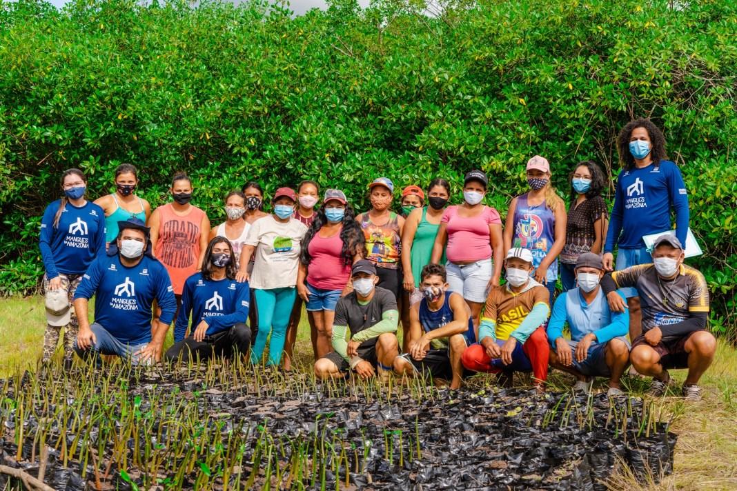 Projeto mobiliza ações sociais e educativas em manguezais da Amazônia