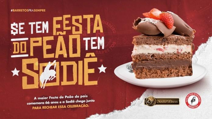 Sodiê Doces participa da live da Festa do Peão de Barretos