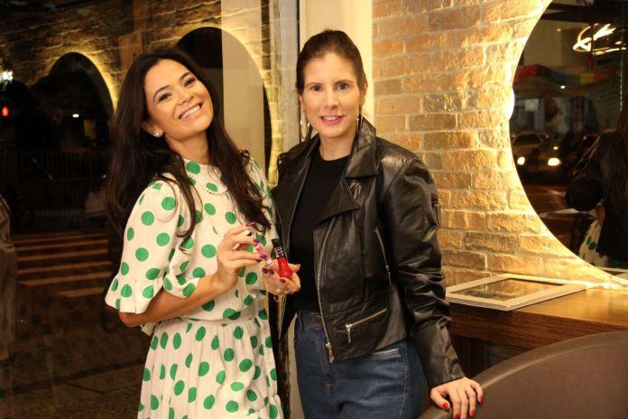 Irmã de Juliana Paes presta consultoria de estilo para Evelyn Montesano