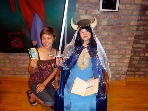 Tarot creative April Wagner & Mary Hobein