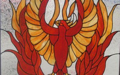 Life Force Wheel: The Phoenix & The Healer