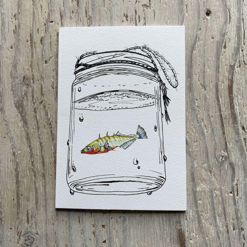 Stickleback A5 Sketchbook