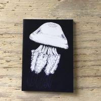 barrel jellyfish pocket notebook
