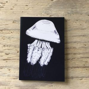 barrel jellyfish pocket notebook