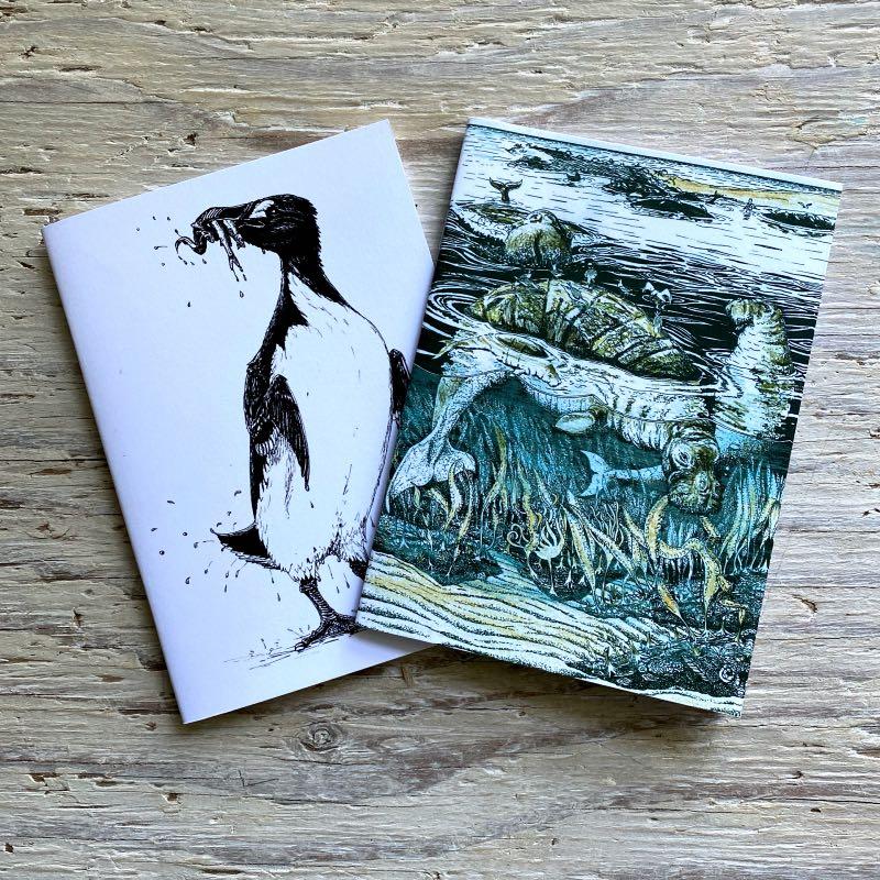 extinction awareness pocket notebook set