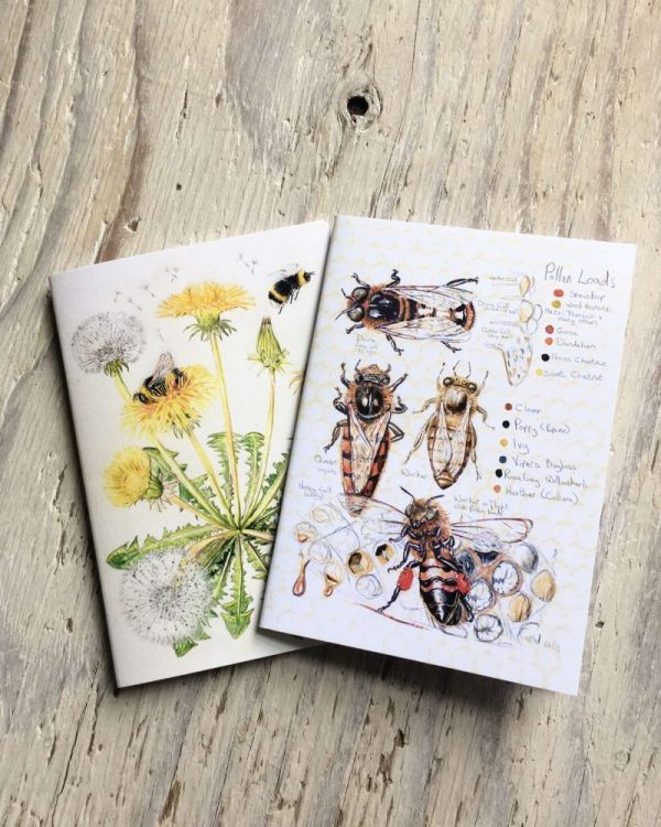 bees pocket notebooks
