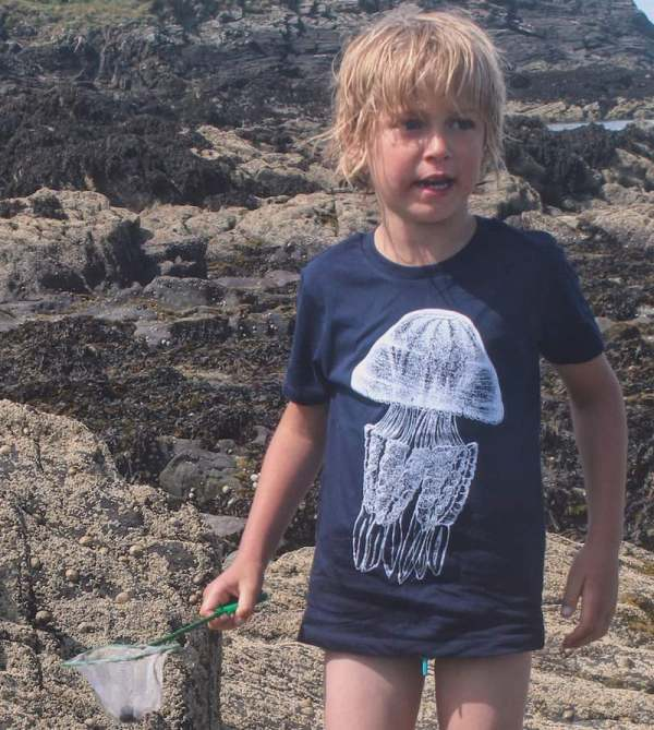 children's barrel jellyfish t-shirt
