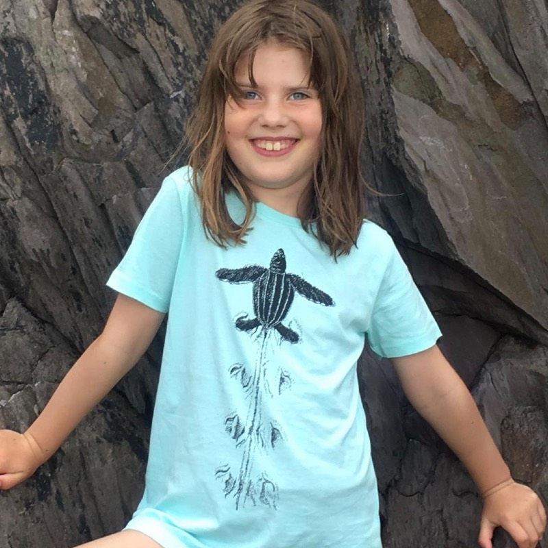childrens leatherback turtle t-shirt