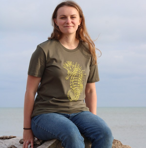 Seahorse T-shirt Khaki