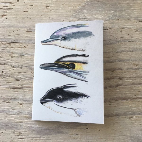 cetacean faces pocket notebook