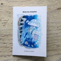 jellyfish story book to colour