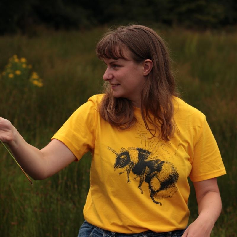 Bumblebee T-shirt - Yellow
