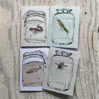 freshwater life greetings cards