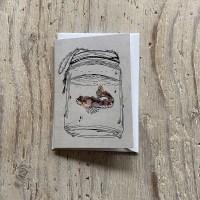 Bullhead Greetings Card