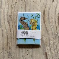 Seahorse & Pipefish Greetings Card set