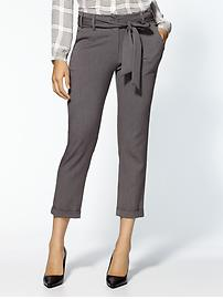 Bow Tie Trouser - Gray